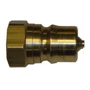 InMac-Kolstrand Brass Quick-Disconnect Coupler-Nose 1/2 Inch NPT