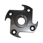 InMac-Kolstrand Heavy Duty Aluminum Drive Plate (RH Ninja Star) for Standard and MARK II Hand Gurdy - Replaces Piece 10