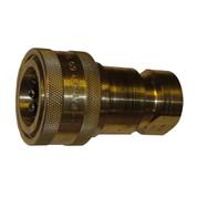 InMac-Kolstrand Brass Quick-Disconnect Coupler-Body 3/4 Inch NPT