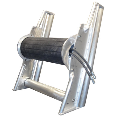 Kolstrand 'Kenai-Special' 40 Inch Power Net Roller with Frame and Lower Horizontal Idle Roller