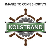 "InMac-Kolstrand 9"" Cast Iron Gypsy with Integral Hub and 2"" Bore"