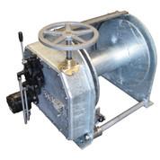 InMac-Kolstrand Steel Galvanized - Single Reduction - 20 Inch Anchor Winch