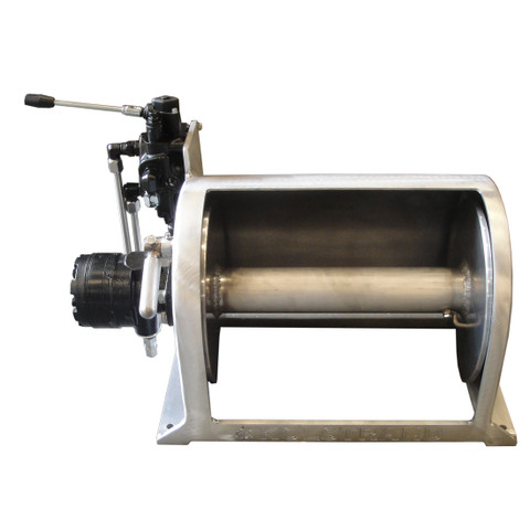 Kolstrand 12 Inch Anchor Winch - With 12 In Diameter X 16 In Wide Drum