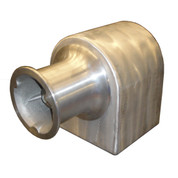 InMac-Kolstrand 6 Inch Horizontal Capstan Winch-No CapstanCap (for use in horizontal mode)