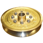"InMac-Kolstrand 15"" Bronze Sheave Set - One Male Sheave Half and One Female Sheave Half"