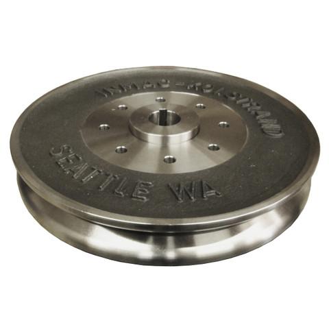"InMac-Kolstrand 12"" Stainless Steel Sheave Set with Integral Hub"