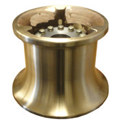 InMac-Kolstrand 9 Inch Bronze Gypsy with SS Bolt-in Splined Hub for MRH80 Motor