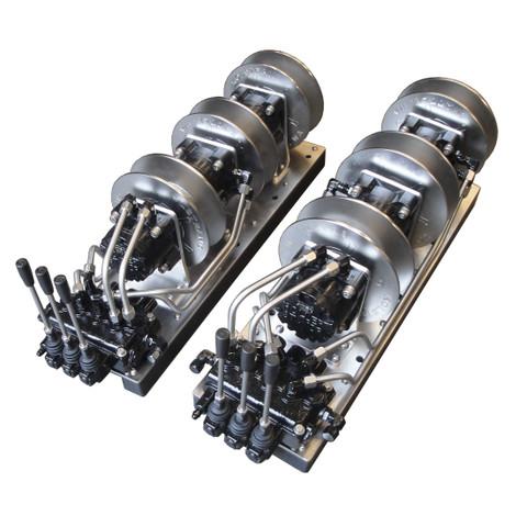 Kolstrand 'GURDY WIZARD-PLUS' 3-Spool Power Gurdy-SET