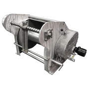 InMac-Kolstrand AKPW24D24W-FLW-AK-RE29 Special Aluminum Winch with FLIP-STYLE Diamond Screw Level Wind