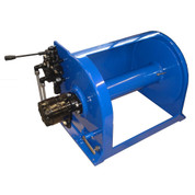 Kolstrand 16 Inch Anchor Winch - With 16 In Diameter X 18 In Wide Drum - Model AKPAAW16D18W-375T-PC Powder-Coated