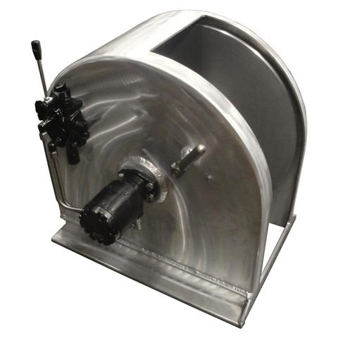 Kolstrand 28 Inch Anchor Winch - With 28 In Diameter X 12 In Wide Drum - Model AKPAAW28D12W