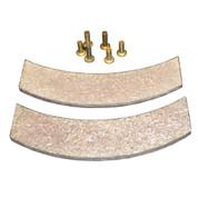 InMac-Kolstrand Replacement Brake Linings with Rivets - for Nylon Multi-Spool Gurdy