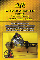 BowTech Carbon Knight/Overdrive Quiver Adapter for Mathews Spider Claw Quiver