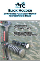 Slick Holder - Archery Flashlight Holder