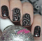Nail art using: Crown Jewels Of Enchantment with Embellishing Regina