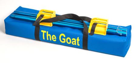 Goat Duffle Bag. Heavy canvas Material.