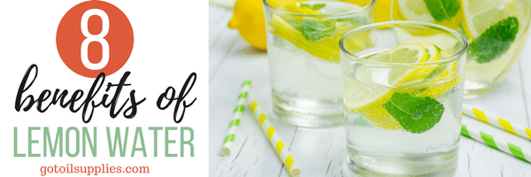 8 Benefits of Lemon Water