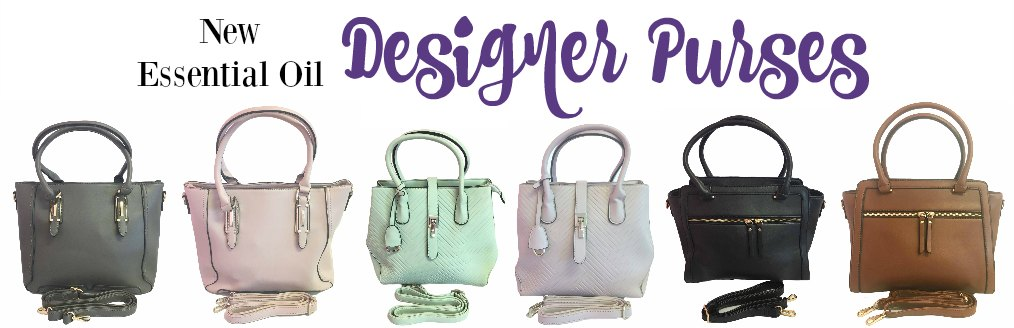 Essential Oil Designer Purses