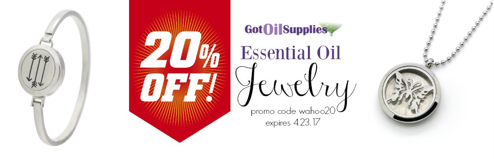 Essential Oil Jewelry Sale