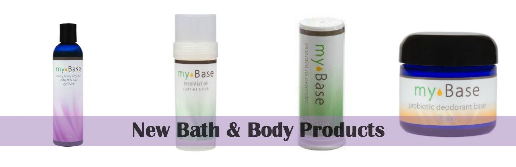Essential Oil Bath and Body Products