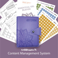 dōTERRA® Purple Content Management System for Essential Oils