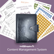 dōTERRA® Black Content Management System for Essential Oils
