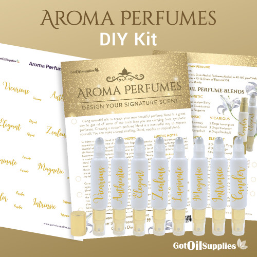 Aroma Perfumes Do It Yourself Essential Oil Kit For EO Fragrances