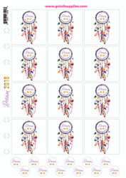 Dream 2018 Essential Oil Proof Labels