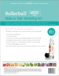 Rollerball Make And Take Workshop Kit Mood Series For Essential Oils