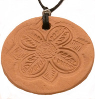 Flower Car Diffuser Terracotta Pendant For Essential Oil Aromatherapy