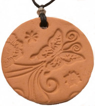 Butterfly Car Diffuser Terracotta Pendant For Essential Oil Aromatherapy