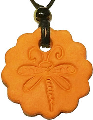 Dragonfly Terracotta Necklace For Essential Oils