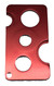 Red Metal Rollerball Roll-On Insert Remover and Installer Tool