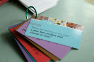 Rollerball Affirmation Cards For The Rollerball Mood Series Make and Take Kit