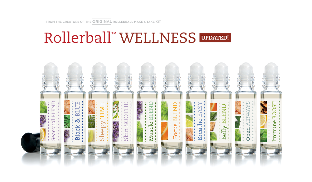 Rollerball Wellness Make And Take Workshop Kit For