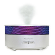 White AromaMist Ultrasonic Diffusing Essential Oil Mister Diffuser