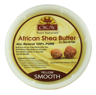 African Smooth Yellow Shea Butter 16 oz. Jar