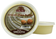 African Smooth White Shea Butter 8 oz. Jar