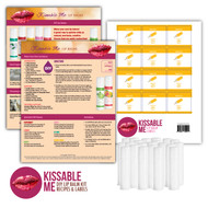 Kissable Me Essential Oil Lip Balm DIY Kit