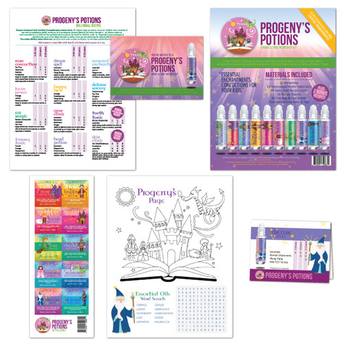Progeny's Potions Essential Oil Make & Take Workshop Kit For Kids