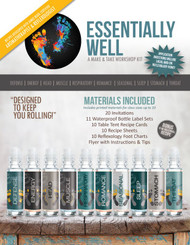 Essentially Well Essential Oil Make & Take Workshop Kit For EO Class