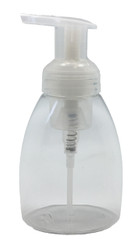 250ml Clear Plastic Foaming Soap Dispenser Bottle with Pump For Homemade EO Blends