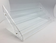 Essential Oil Clear Acrylic Display Rack With 5 Tiers For 60 Vials, Bottles or Containers
