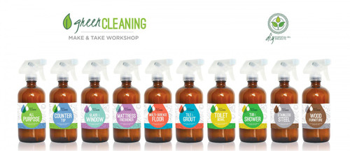 Green Cleaning With Essential Oils Make & Take Workshop Kit