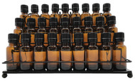 Metal Display Wall Rack With 3 Tiers For Essential Oil Vials