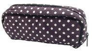 Purple White Dot Essential Oil Travel Bag