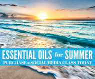 Essential Oils for Summer Compliant Online Facebook Class