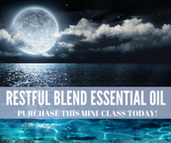 Restful Blend Essential Oil Compliant Online Social Media Mini Class