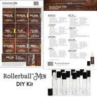 Rollerball Men Do It Yourself Essential Oil Workshop Kit
