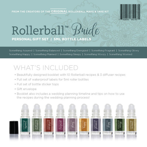 Rollerball Bride Personal Gift Set for Essential Oils